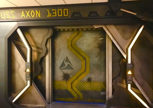 Axon / SpaceShip Doors