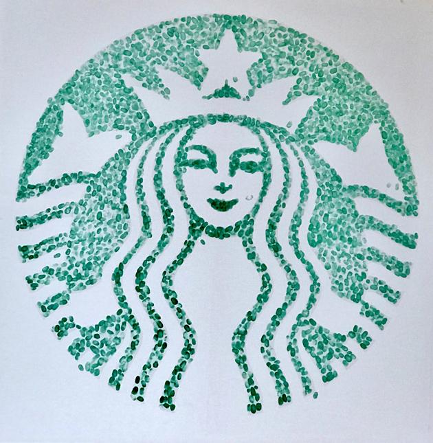 Starbucks Fingerprint Siren Logo