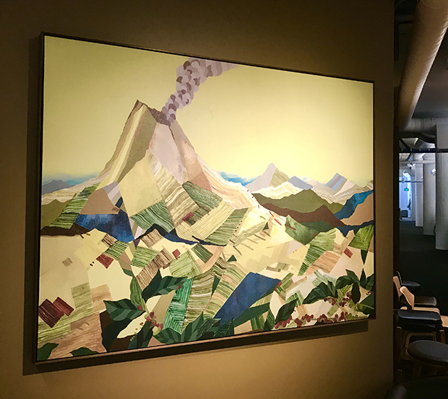Art Collection in the Starbucks Headquarters